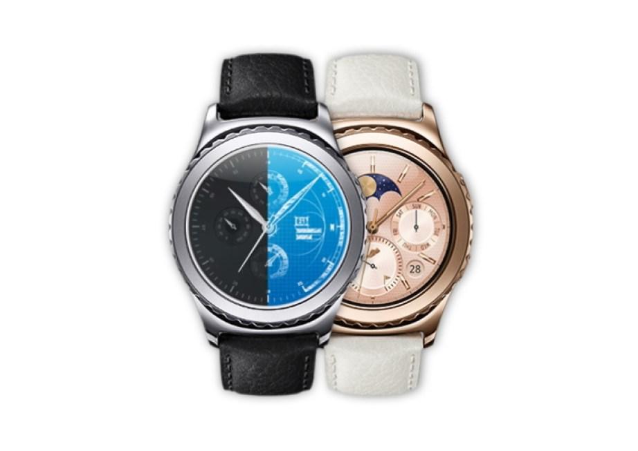Des watchfaces créées avec Samsung Gear Watch Designer