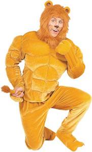 Men's Lion Halloween Costume
