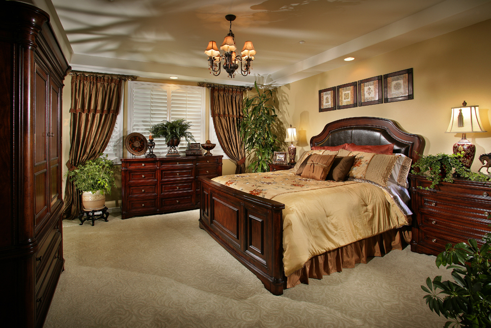 Master Suite - Mediterranean, Old World, Tuscany Style