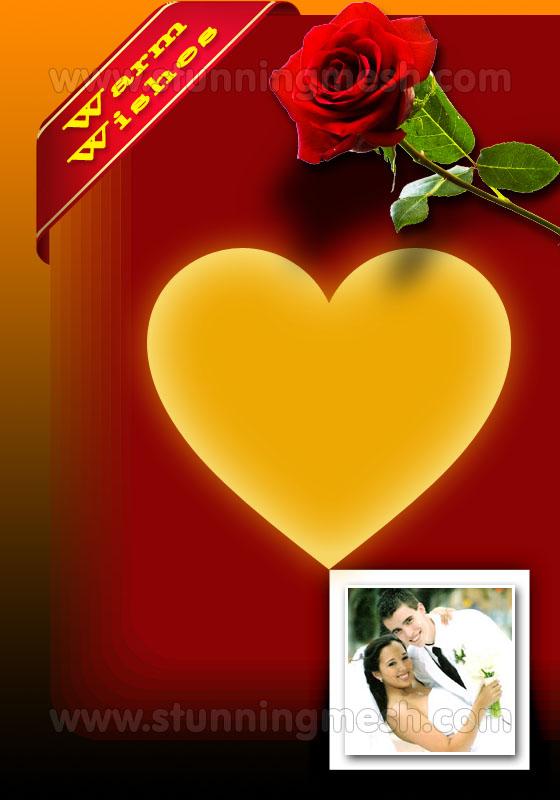 Stunningmesh - Wedding Card in Photoshop