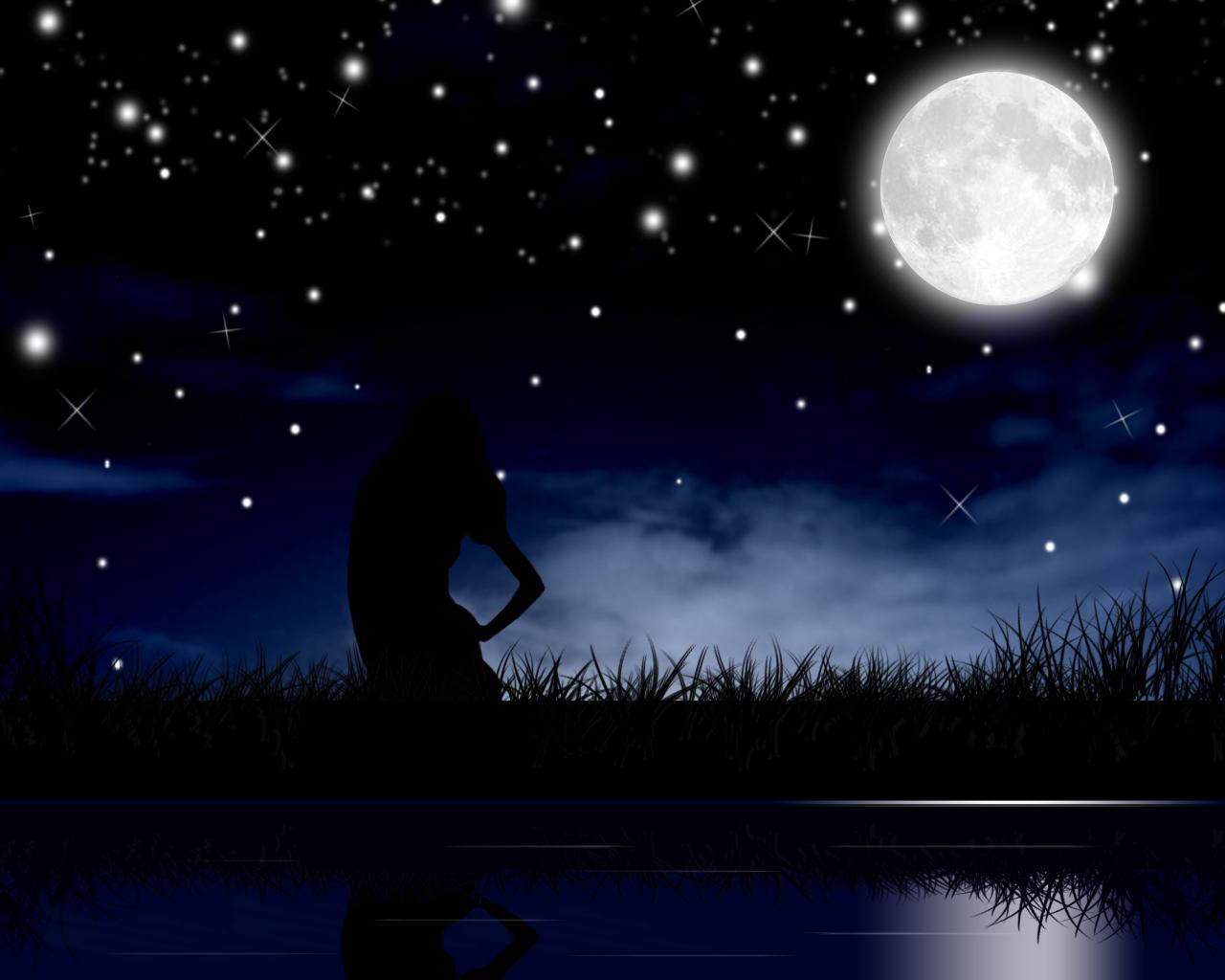 Moonlight Night Wallpaper (59+ images)