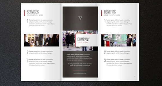 Free Corporate Tri Fold Brochure