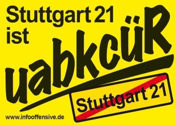 Stuttgart 21 ist Rückbau