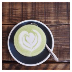 Best almond matcha latte Ive tried!