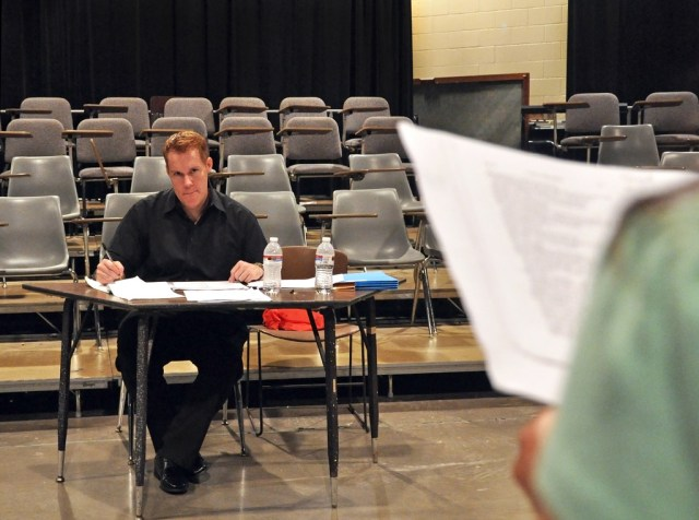 """Richard Edmonson, director of the Summer Stock play """"To Kill a Mockingbird"""" holds auditions for his production May 26 in the COAS.  Auditions will continue June 6."""