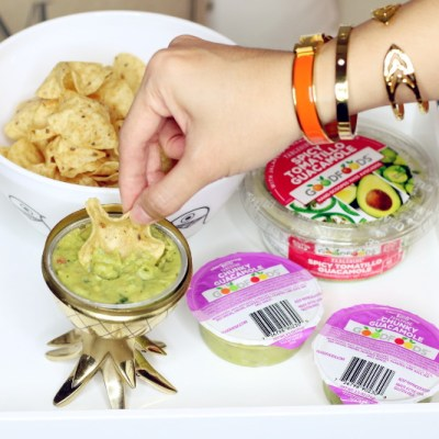 GOODFOODS guacamole and chips