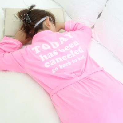 robe, bed, sleeping