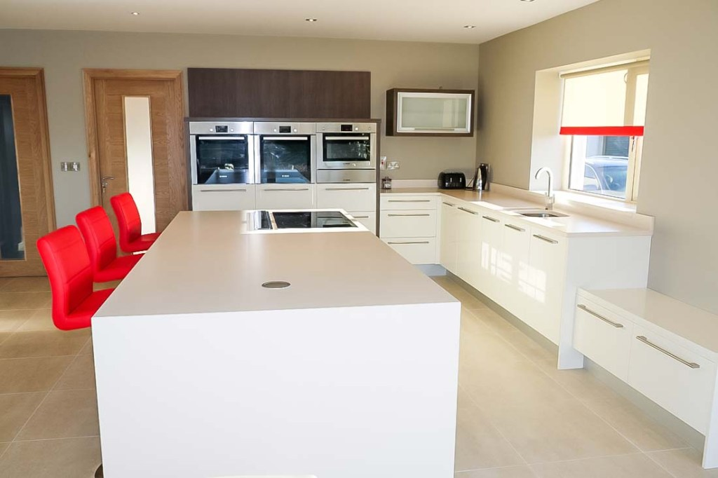 Contemporary Kitchen Range from Stylecraft Kitchens and Bedrooms Cork