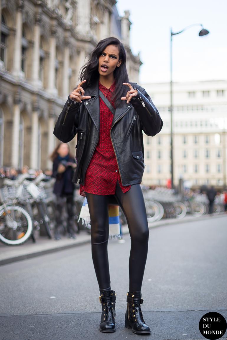 Paris Fashion Week Fw 2014 Street Style Grace Mahary Style Du Monde Street Style Street