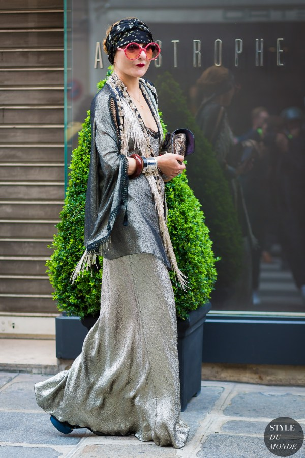 Haute Couture Fall 2016 Street Style: Catherine Baba