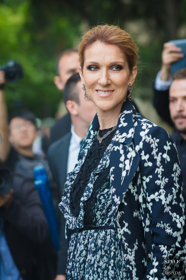 Haute Couture Fall 2016 Street Style: Celine Dion