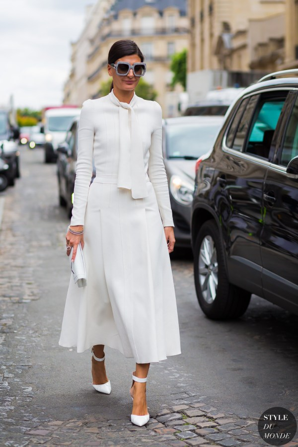Haute Couture Fall 2016 Street Style: Giovanna Engelbert