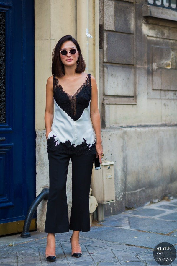 Haute Couture Fall 2016 Street Style: Nicole Warne