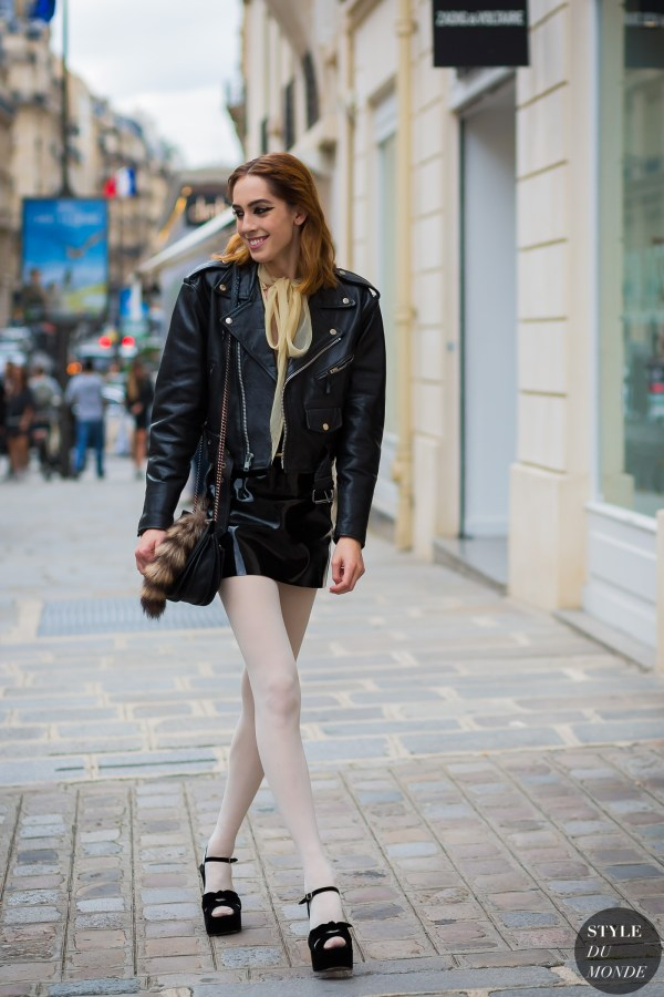 Haute Couture Fall 2016 Street Style: Teddy Quinlivan