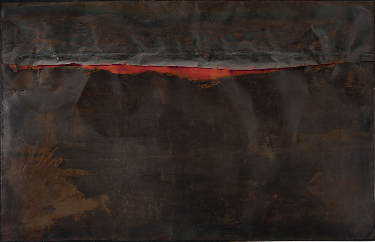 Alberto Burri, la herida en el lienzo