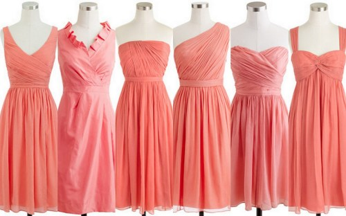 Smashing Different Styles Coral Bridesmaid Dresses Cheap Coral Bridesmaid Dress Lisa Sammons Events Dress Ideas Coral Bridesmaid Dresses