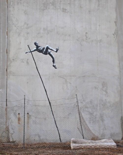 banksy - olympics - www.styleisnecessity.com