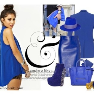 AUTUMN WINTER TREND! COBALT BL...