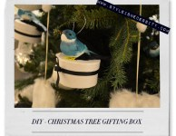 DIY – CHRISTMAS TREE GIFTING BOX