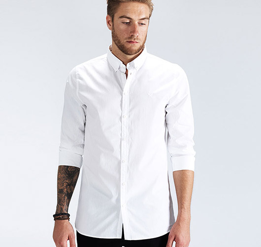Button-Down Hemd von Distorted People