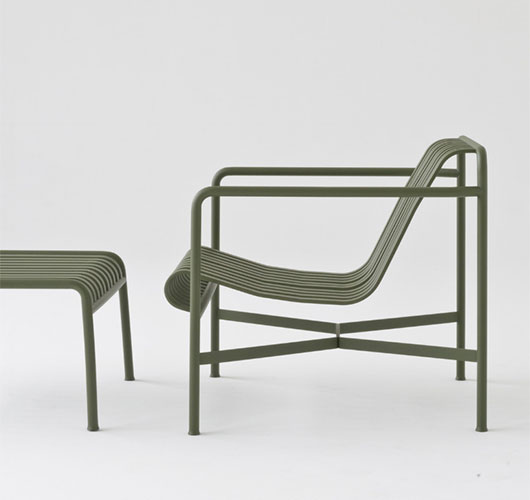 Palissade Lounge Chair Low von Hay