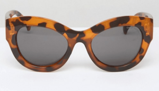 Cheap Monday Cat Eye Sunglasses Tortoise Print