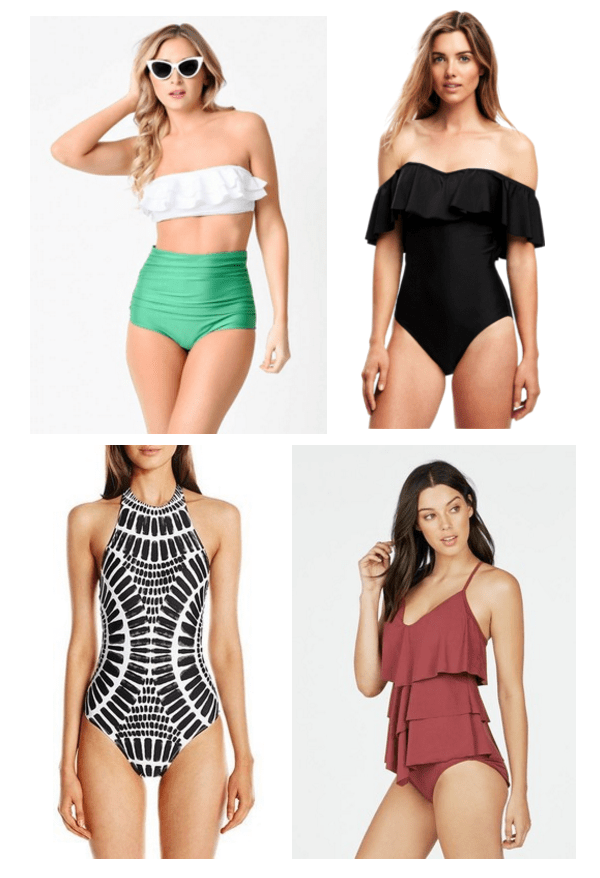 Best Bathing Suits to Hide Stomach Fat Tummy