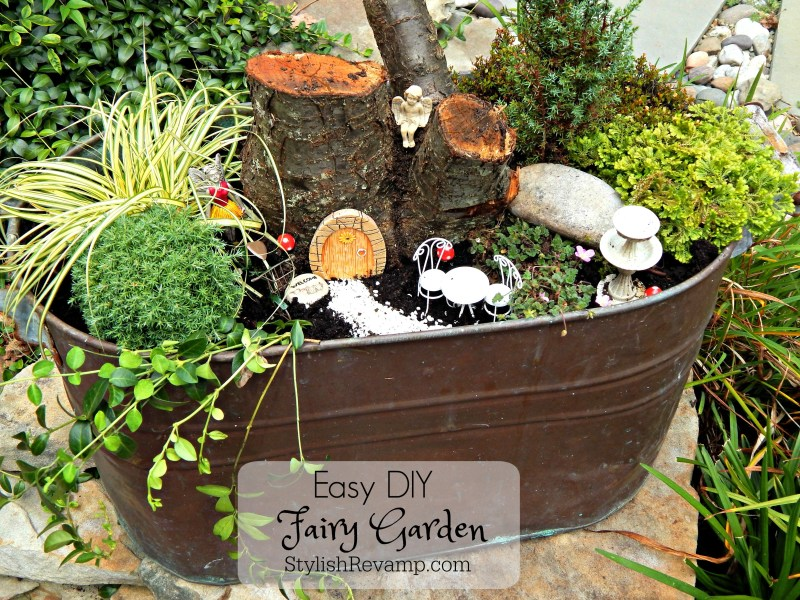 Large Of Diy Fairy Garden