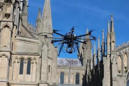 drone church