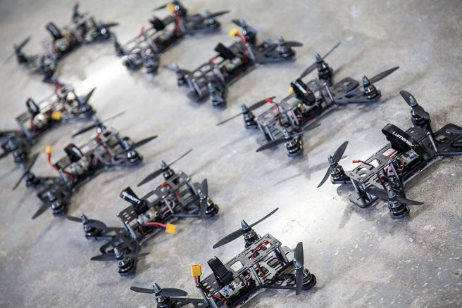 Gaggle of drones