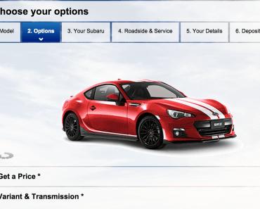 Buy Subaru Online Australia BRZ