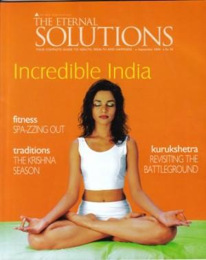 Subodh Gupta Yoga Article in The Eternal Solutions Sep04