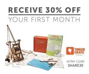 Tinker Crate Subscription Box