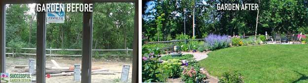 Garden Case Study – 'Blank Canvas' Backyard Transformation (SGD student)