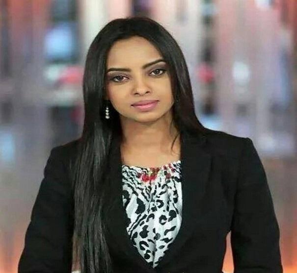 الاعلامية بقناة الجزيرة ميادة عبده : افتخر بسودانيتي .. وهذا سؤالي للســــاسة