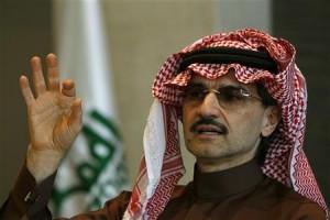 الوليد بن طلال يتبرع بـ 5 ملايين ريال لعتق رقبة الشاب العقيلي