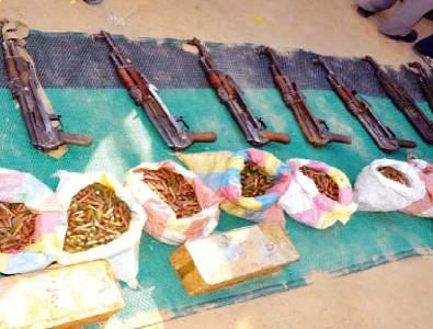 بدء جمع الأسلحة الثقيلة من المواطنين بجنوب دارفور