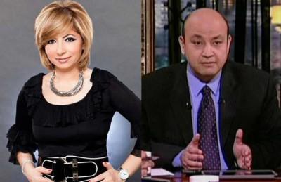 لميس الحديدي: زوجي عمرو اديب أحلى من جورج كلوني
