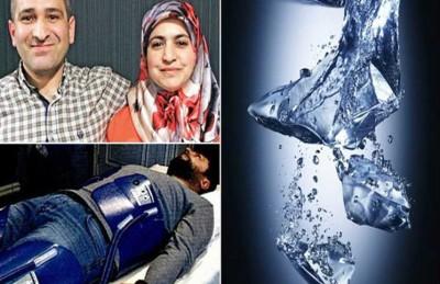 حمام ثلج يعيد رجلاً إلى الحياة في تركيا