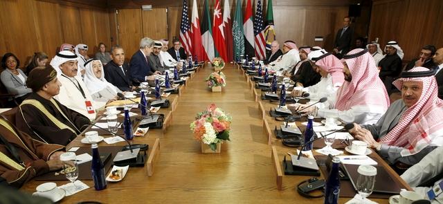دعم الخليج عسكرياً عنوان قمة كامب ديفيد في يومها الأول