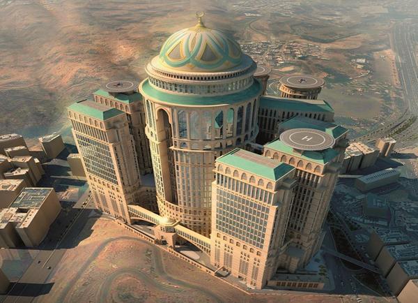 إنشاء أكبر فندق وقبة بالعالم.. في مكة المكرمة
