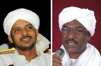 حاتم السر وإبراهيم الميرغني وزراء الميرغني بالحكومة