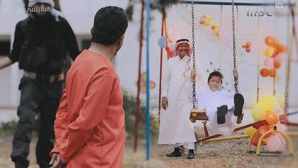 """""""سيلفي"""" يفضح تنظيم """"داعش"""" الإرهابي في """"بيضة الشيطان"""".. ذهب لاستعادة ابنه وفي مشهد محزن.. الابن ينحر والده"""