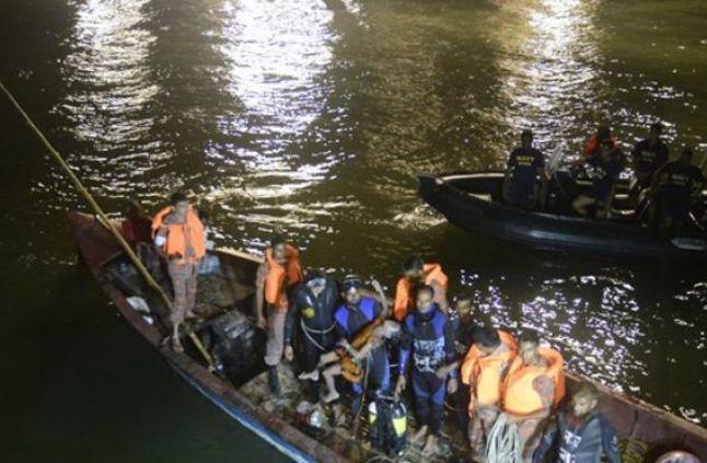 وفاة 14 شخصا في حادث غرق قارب بنهر النيل