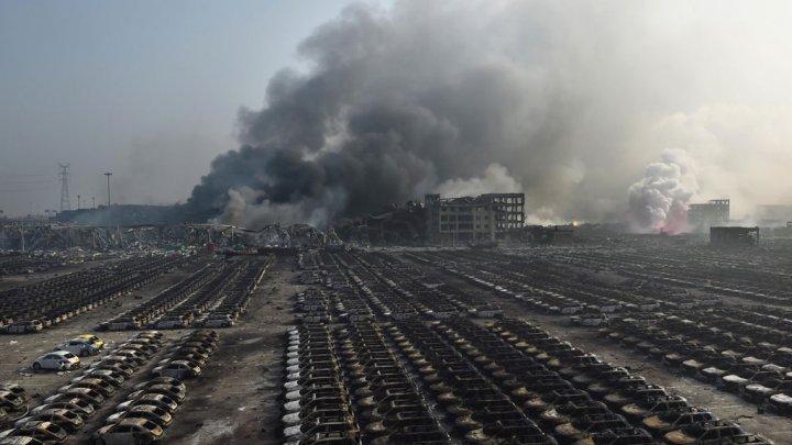 """الصين.. انفجارات """"تيانجين"""" تحصد 104 قتلى حتى اللحظة والسلطات تتوخى """"كوارث ثانوية"""""""