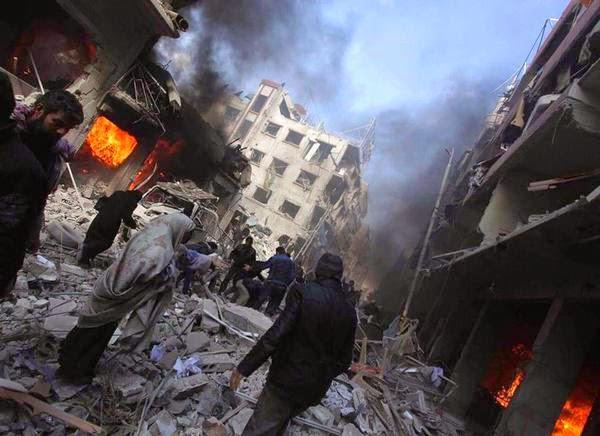 الاكراد يتهمون قوات موالية للنظام السوري بالتورط في تفجيرات القامشلي