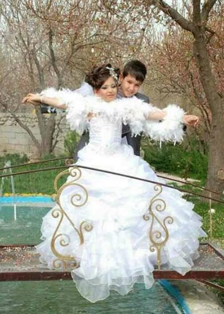 شاهد بالصور.. زواج في إيران العريس 14 عاماً والعروسة 10 0d73263f-214b-4a1e-97ac-173a81e7c878