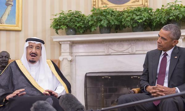الملك سلمان لأوباما: لسنا بحاجة لشيء.. ويهمنا إستقرار المنطقة
