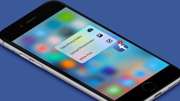 فيس بوك يُطلق تحديث جديد لأجهزة آيفون لدعم تقنية اللمس ثُلاثي الأبعاد