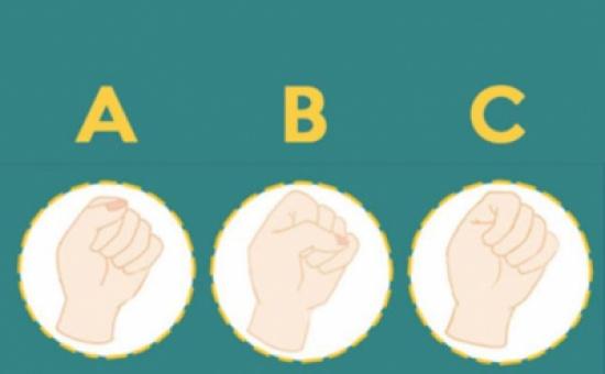 تحليل الشخصية: طريقة قبضة يدك تكشف الكثير عنك!